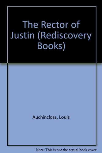 9780517684399: Rector of Justin (Rediscovery Books)