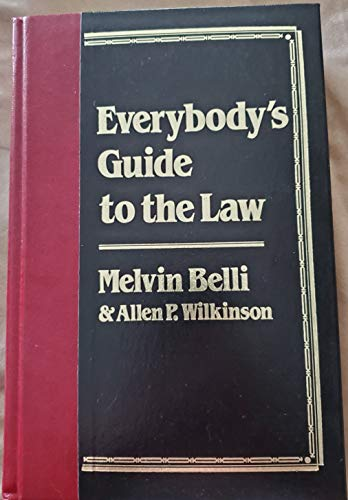 9780517686324: Everybody's Guide to the Law: Deluxe Edition