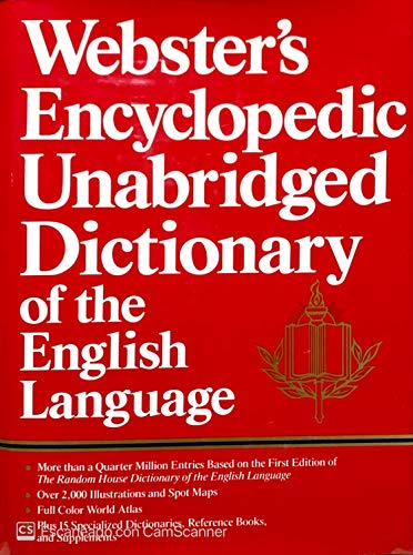 9780517687819: Webster's Encyclopedic Unabridged Dictionary of the English Languagea