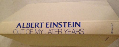 Out of my Later Years: Einstein, Albert