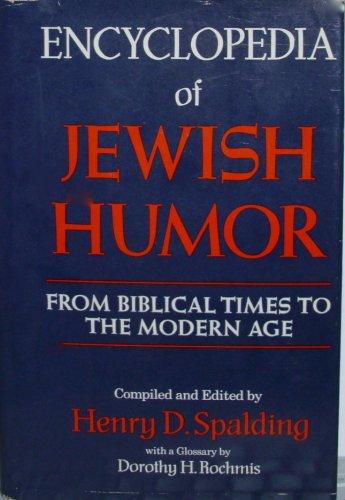 9780517695128: Encyclopedia of Jewish Humor From Biblic
