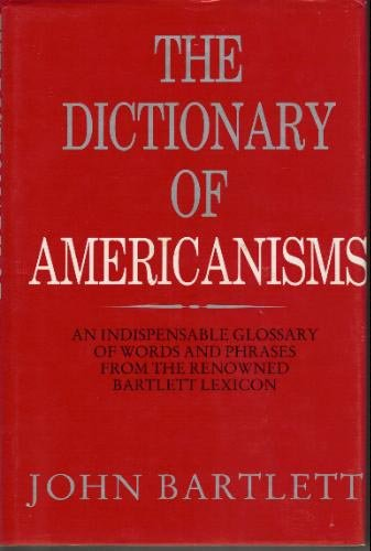 9780517696866: Dictionary of Americanisms