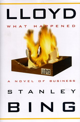 9780517703496: Lloyd--What Happened: A Novel of Business