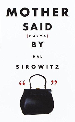 9780517704974: Mother Said: Poems
