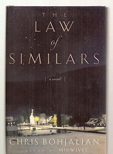 THE LAW OF SIMILARS: Bohjalian, Chris