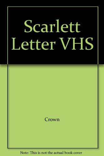9780517751428: Scarlett Letter VHS