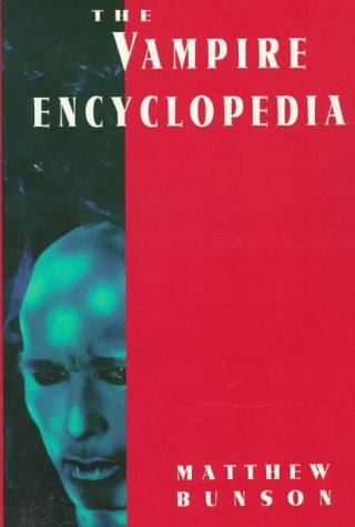 9780517881002: The Vampire Encyclopedia