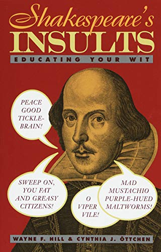 9780517885390: Shakespeare's Insults: Educating Your Wit