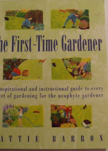 9780517886199: The First-Time Gardener