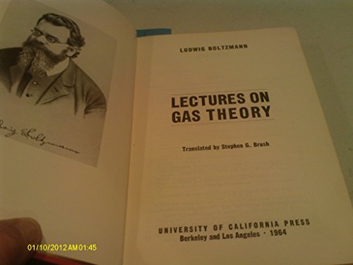 9780520001428: Lectures on Gas Theory