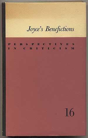 Joyce's Benefictions: Helmut Bonheim