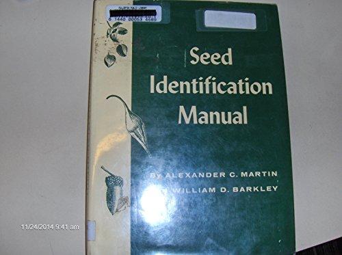 9780520008144: Seed Identification Manual