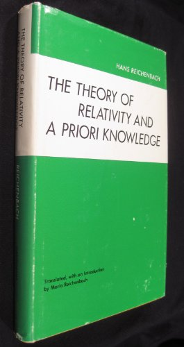 9780520010598: The Theory of Relativity and a Priori Knowledge