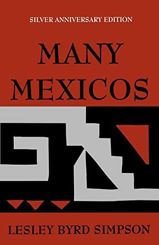 9780520011809: Many Mexicos