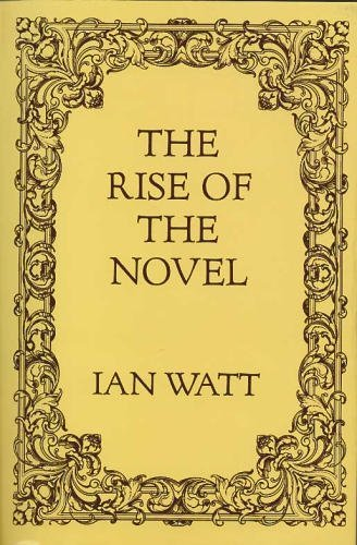 9780520013179: The Rise of the Novel