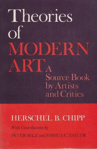 Herschel Chipp Theories Modern Art Abebooks
