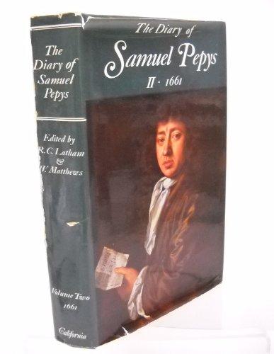 9780520015760: The Diary of Samuel Pepys: 1661 v. 2: 002