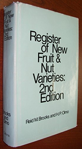 9780520016385: Register of New Fruit and Nut Varieties