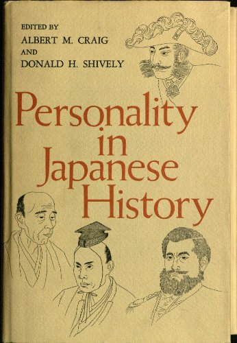 9780520016996: Personality in Japanese History