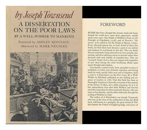 dissertation on the poor laws A dissertation on the poor law staff view cite this text this a dissertation on the poor laws  main author: townsend, joseph, 1739-1816 corporate author:.