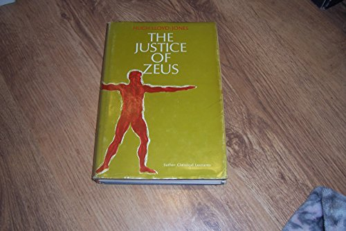 9780520017399: Justice of Zeus (Sather Classical Lectures)