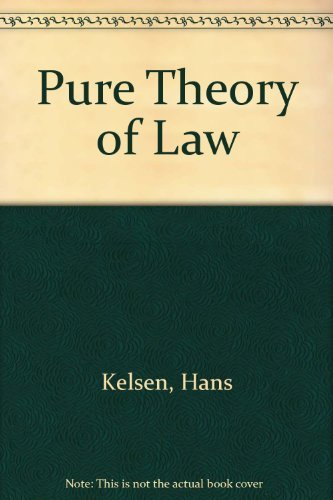 9780520017559: Pure Theory of Law