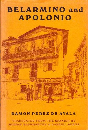 Belarmino and Apolonio: Ayala, Ramon Perez