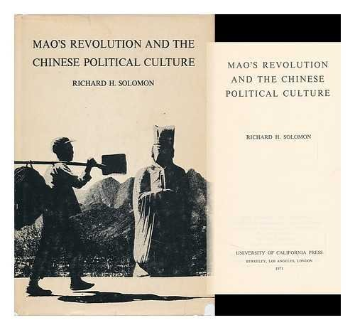9780520018068: Mao's Revolution and the Chinese Political Culture (Michigan Studies on China)