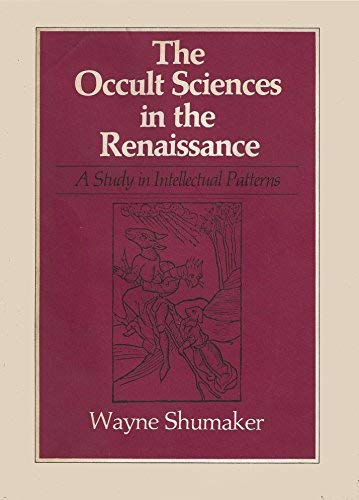 9780520020214: Occult Sciences in the Renaissance: A Study in Intellectual Patterns