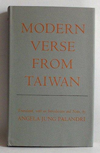 Modern Verse from Taiwan