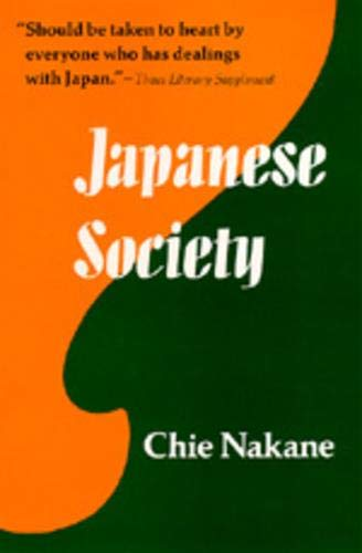 9780520021549: Japanese Society (Center for Japanese Studies, UC Berkeley)