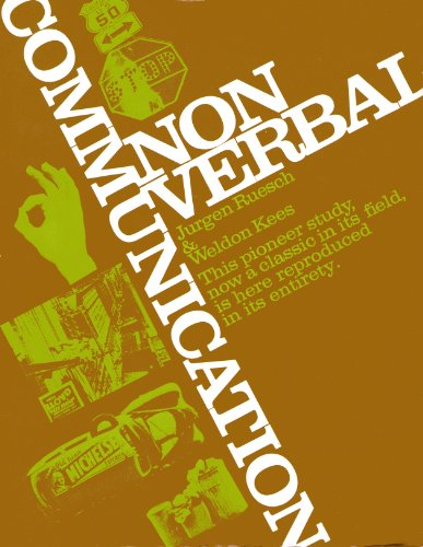 9780520021624: Nonverbal Communication: Notes on the Visual Perception of Human Relations