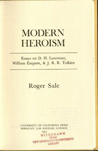 9780520022089: Modern Heroism