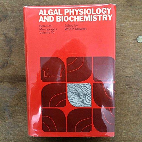 9780520024106: Algal physiology and biochemistry (Botanical monographs)