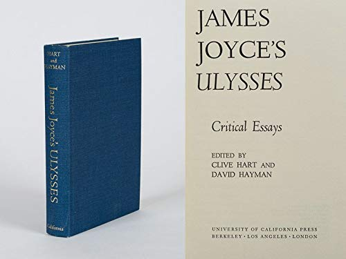 9780520024441: James Joyce's Ulysses;: Critical essays,