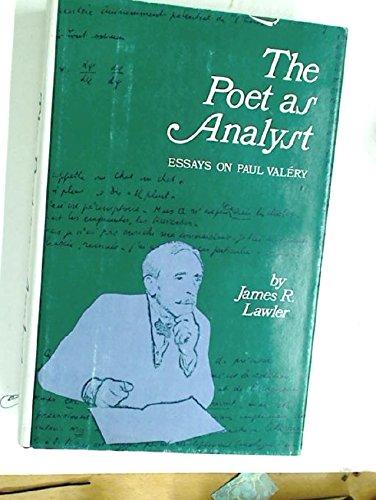 9780520024502: Poet as Analyst: Essays on Paul Valery