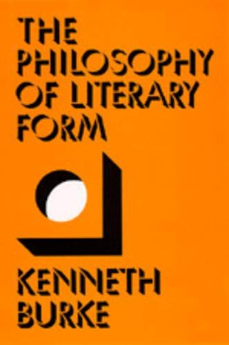 9780520024830: The Philosophy of Literary Form