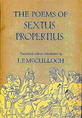 9780520027749: Poems of Sextus Propertius