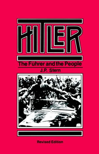 9780520029521: Hitler: The Fuhrer and the People