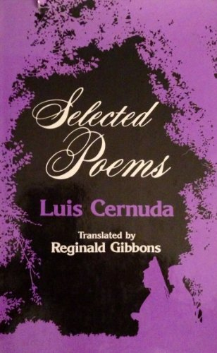 9780520029842: Selected Poems of Luis Cernuda (English and Spanish Edition)