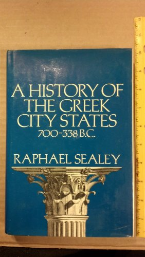 9780520031258: History of the Greek City States