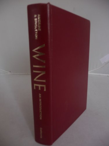 9780520031876: Wine: An Introduction for Americans