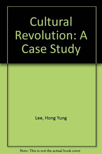 9780520032972: The Politics of the Chinese Cultural Revolution: A Case Study