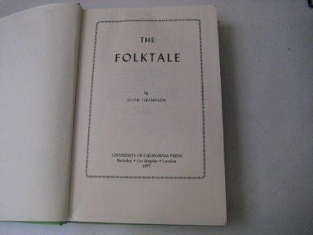 9780520033597: The Folktale