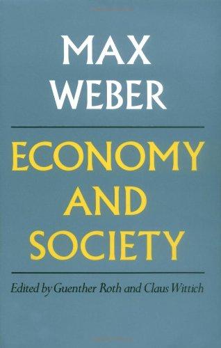 9780520035003: Economy and Society