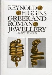 Greek and Roman Jewellery (second edition )
