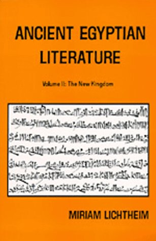 9780520036154: Ancient Egyptian Literature: Volume II: The New Kingdom (Near Eastern Center, UCLA)
