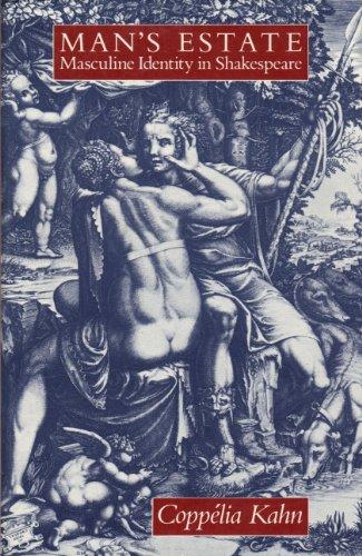 9780520038998: Man's Estate: Masculine Identity in Shakespeare