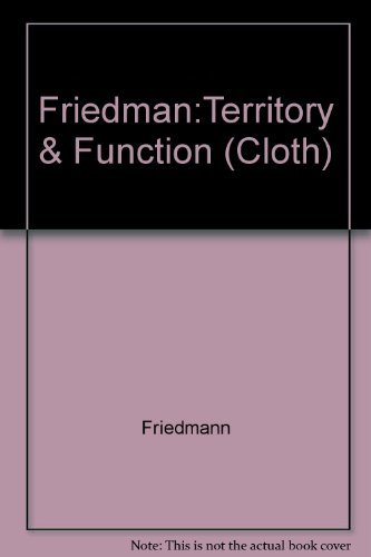 9780520039285: Territory and Function