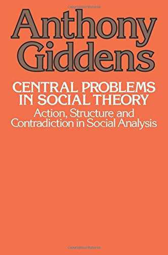 how does anthony giddens attempt to reconcile structure and agency in his sociological theory Theoretical sociological attempts in integrating structure and agency has primarily substantially as a result of anthony giddens work on social theory.